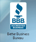 A verified and trusted member of the Better Business Bureau.