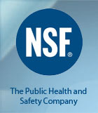 NSF International certifies products and sets standards for food, water and consumer goods.